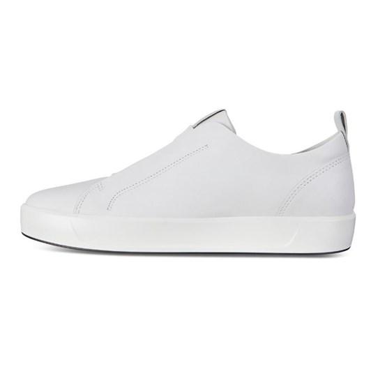 Ecco Soft 8 M White Code Casual Shoe