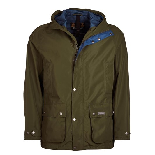 Barbour Camber Jacket Rifle Green