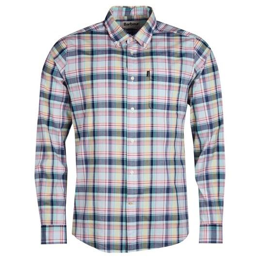 Barbour Madras 1 Tailored Shirt