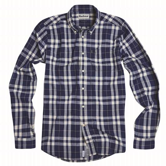 Barbour Indigo 3 Tailored Indigo Shirt