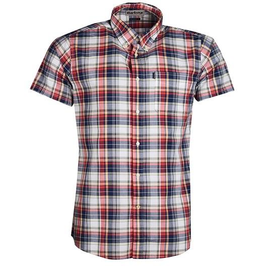Barbour Tattersall 2 S/S Tailored Lemon Shirt
