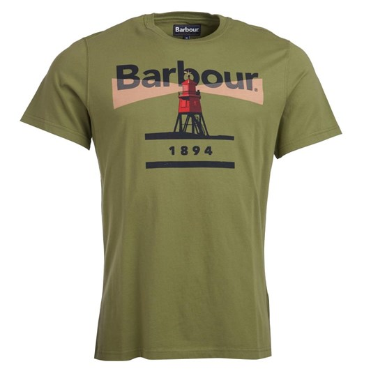 Barbour Tartan Pique Polo Racing Green Shirt
