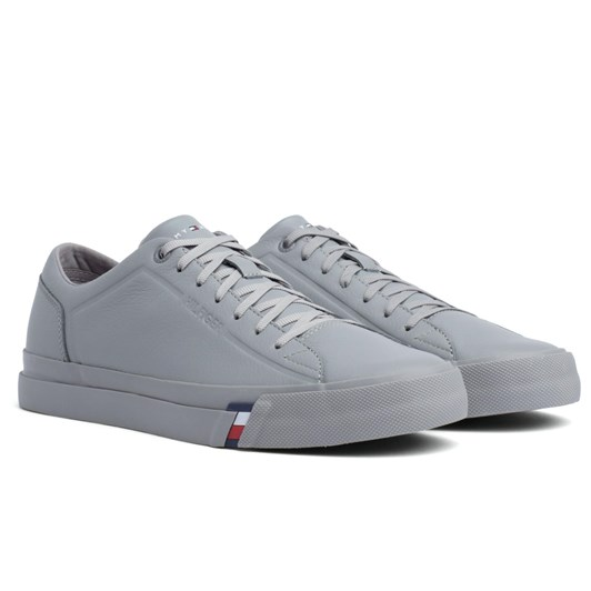 410dd31dfc72 Tommy Hilfiger Corporate Leather Sneaker ...