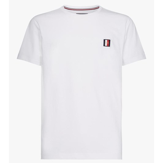 ae4953bea Tommy Hilfiger Icon Woven Label Relax Fit Tee ...