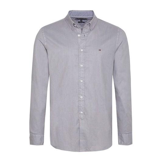Tommy Hilfiger Slim Garment Dyed Dobby Shirt
