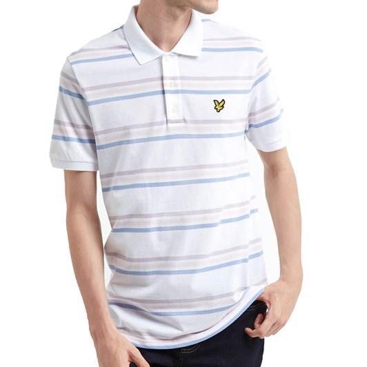 Lyle & Scott Multi Striped Polo Shirt