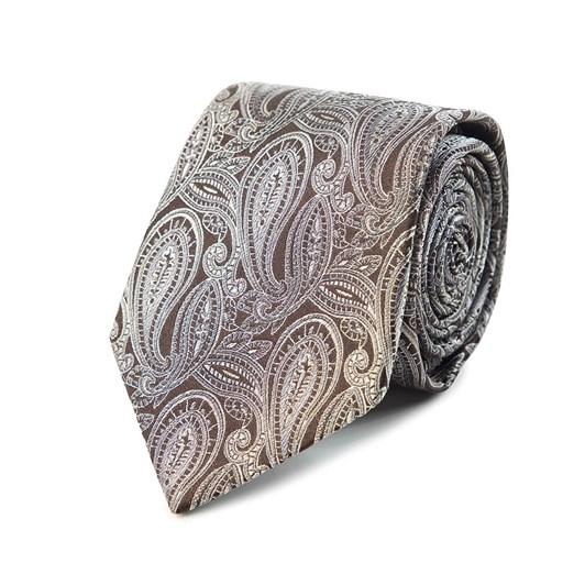 Cambridge Graphite Paisley 7.5Cm Tie