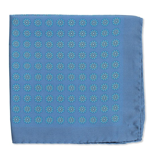 Cambridge Foulard Pocket Square