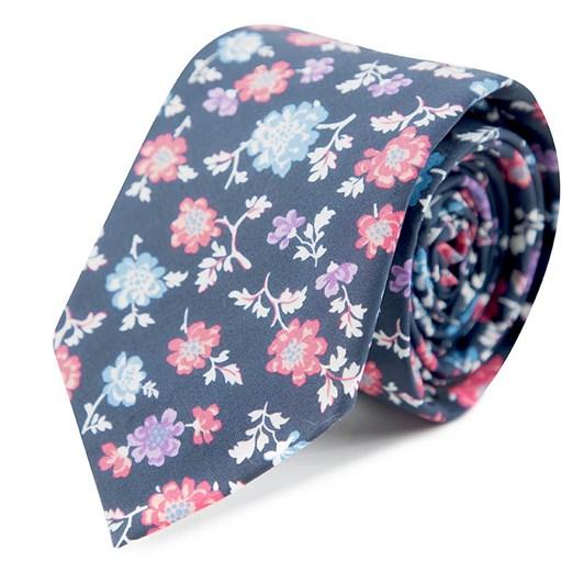 Gibson Floral Cotton 6.5Cm Tie
