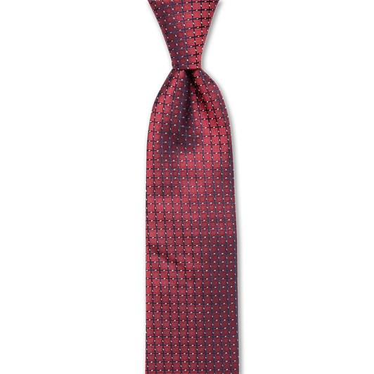 Joe Black Lattice 7.5Cm Tie