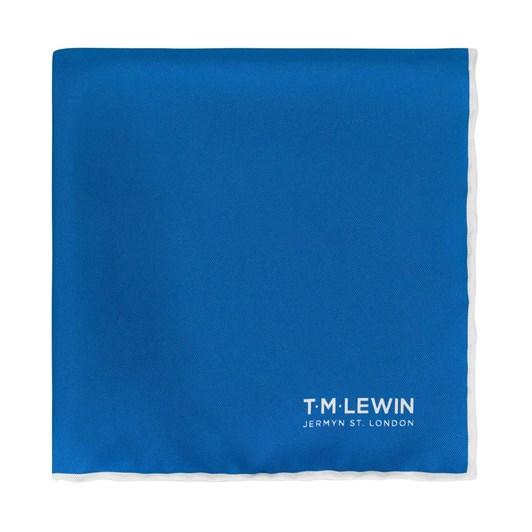 T.M.Lewin Plain Royal Blue Pocket Square