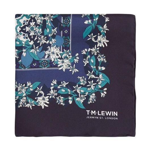 T.M.Lewin Vintage Placement Print Pocket Square