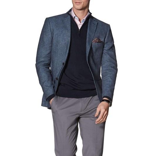 T.M.Lewin Adlington Denim Semi Plain Jacket