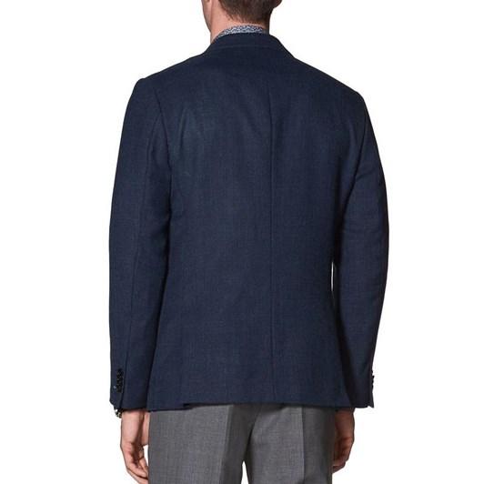 T.M.Lewin Grantham Navy Blue Blazer