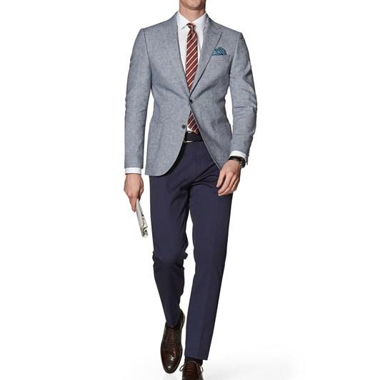 T.M.Lewin Farnham Blue Grey Jacket