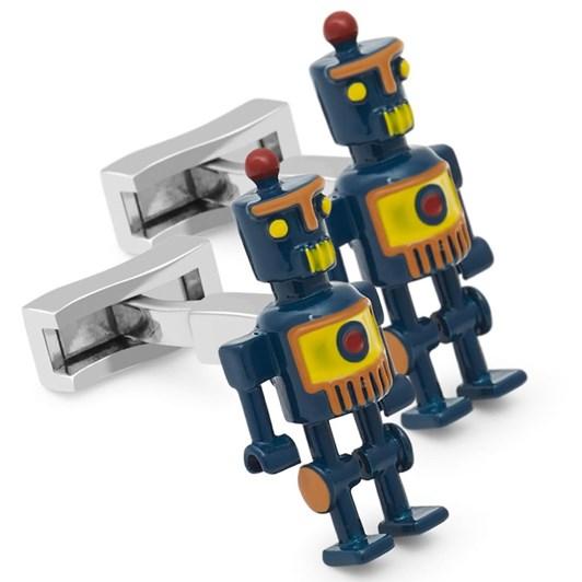 T.M.Lewin 3D Enamel Robot Cufflinks