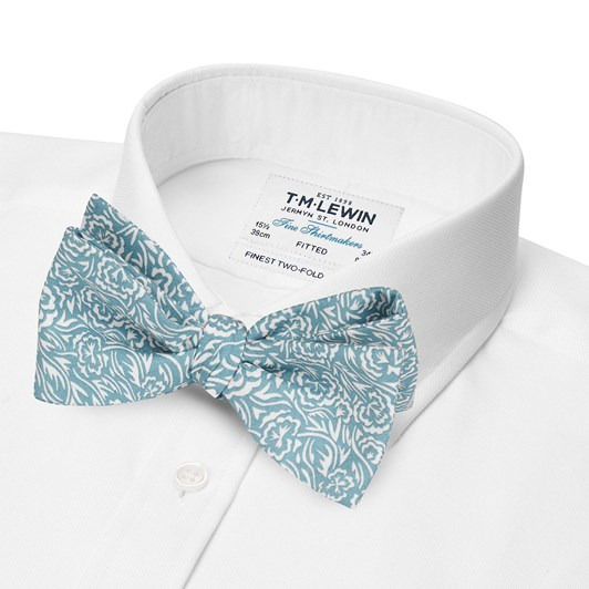 T.M.Lewin Windswept Mint Liberty Bow