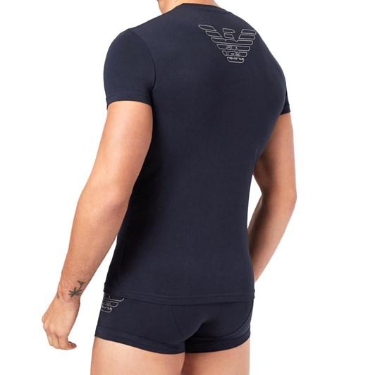 Emporio Armani Cotton Stretch Knit Pyjamas Set