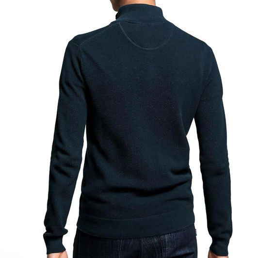 Gant Cotton Piqué Halfzip Sweater