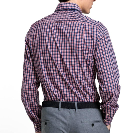 Gant Tp Indigo Check Slim Point