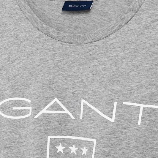 Gant Printed Gant Shield Ss T-Shirt