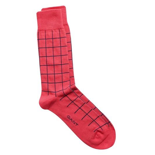 Gant Contrast Check Socks