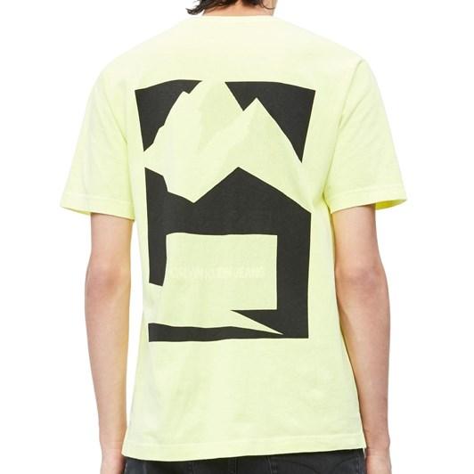 Calvin Klein Pixel Graphic Print T-Shirt