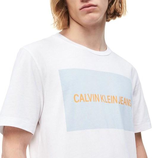 Calvin Klein Instit Box Logo T-Shirt