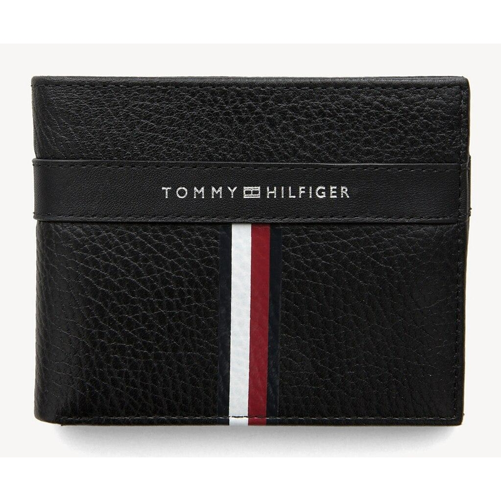 Tommy Hilfiger Corporate Leather Mini Cc Wallet