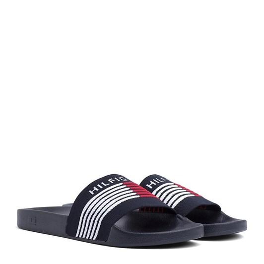 Tommy Hilfiger Signature Knit Strap Slides