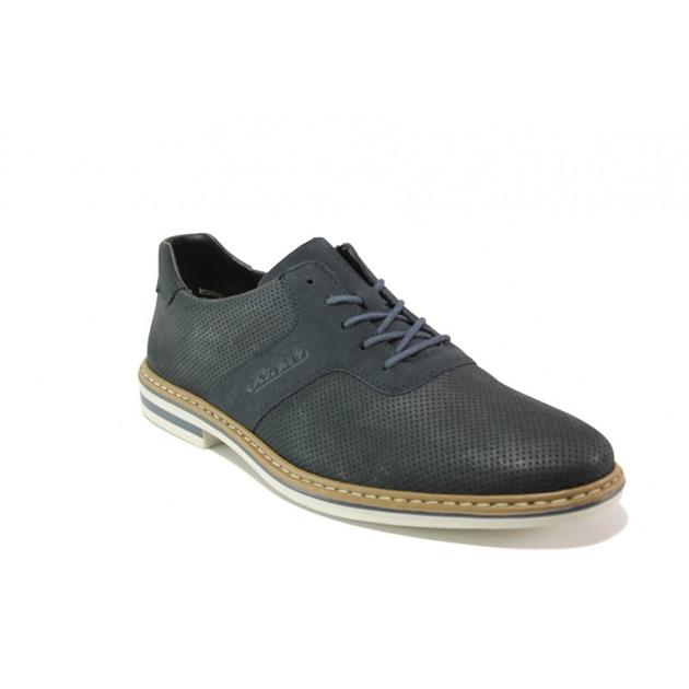 Rieker Casual Footwear - dark blue suede