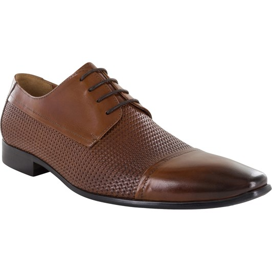 Florsheim A Summer Styled 4 Cap Toe With Embossed Camp & Contemporary Taper
