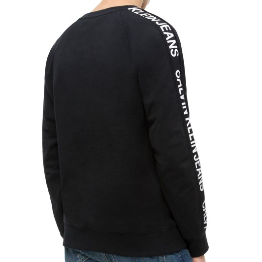 Calvin Klein Institutional Side Stripe Crew Neck