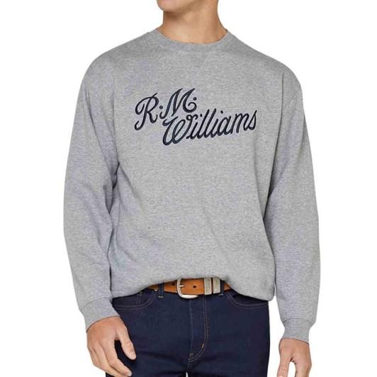 R.M. Williams Script Crew Neck