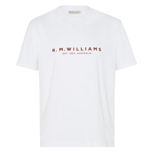 R.M. Williams R.M.W Logo Tee