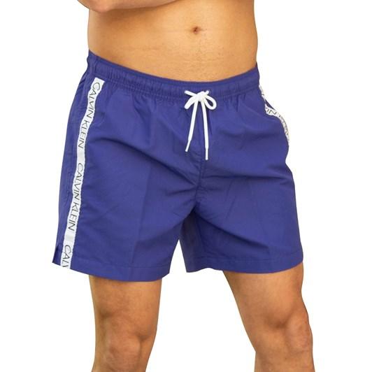 Calvin Klein Core Logo Medium Drawstring Swim Shorts
