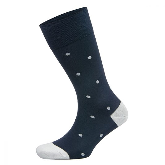 Falke Dot Mercerised Cotton Dress Sock
