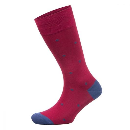 Falke Falke Dot Mercerised Cotton Dress Sock
