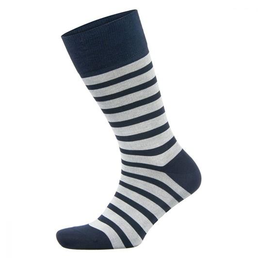 Falke Classic Stripe Mercerised Cotton