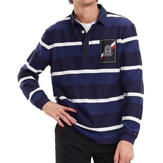 Tommy Hilfiger Multicolour Stripe Rugby Shirt