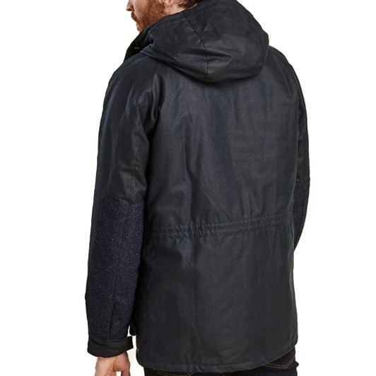 Barbour Coll Waxed Cotton Jacket