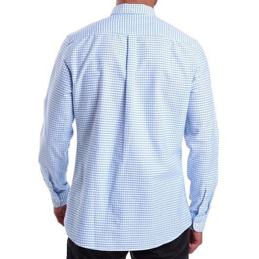 Barbour Tattersall 12 Tailored Shirt - Sky
