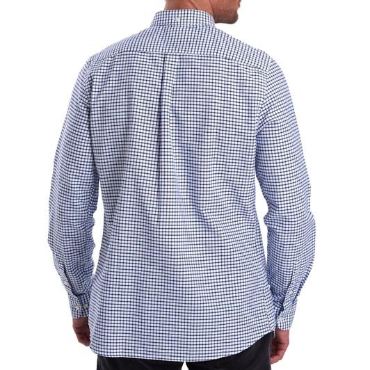 Barbour Tattersall 12 Tailored Shirt - Indigo