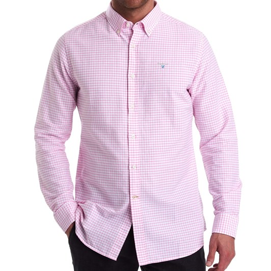 Barbour Tattersall 12 Tailored Shirt - Pink
