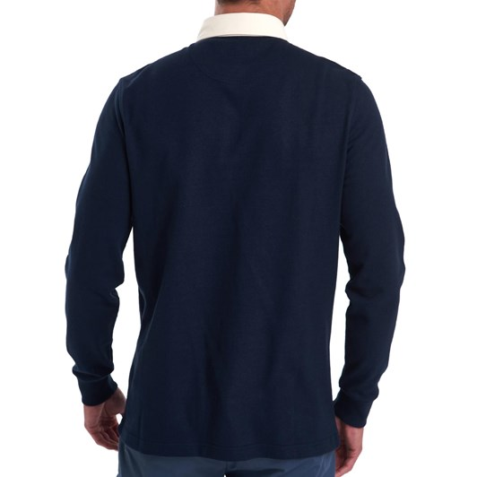 Barbour Weston Panel Rugby - Navy