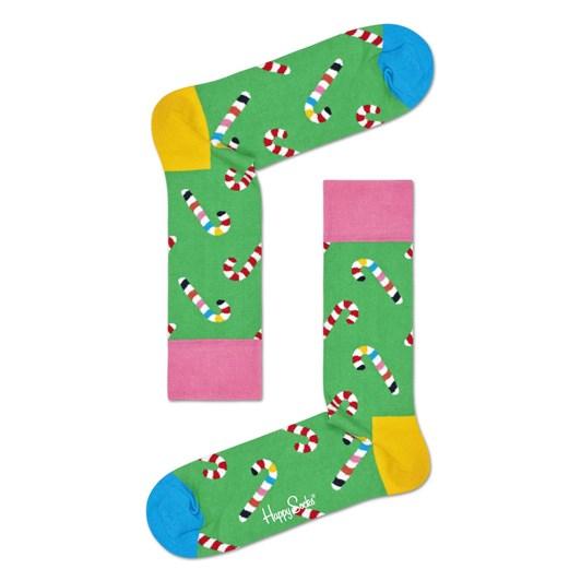 Happy Socks Christmas Cracker Candy Cane Gift Box