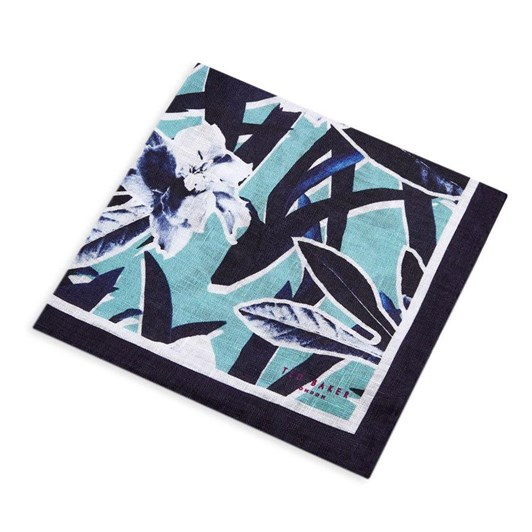 Ted Baker BOOK Floral Pocket Square