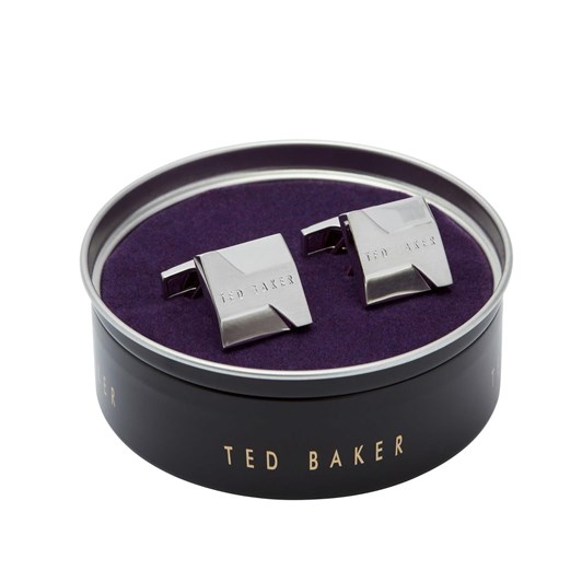 Ted Baker HISTOR Brushed And Faceted Cufflinks