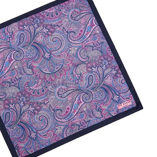 Ted Baker SAGLOO Paisley And Lily Pocket Square
