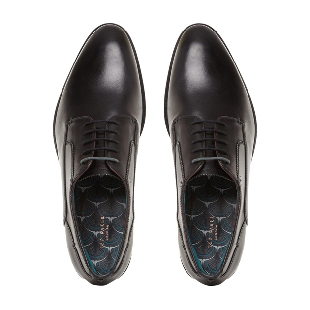 Ted Baker PARALS Contemporary Style Derby Shoe - 00-black